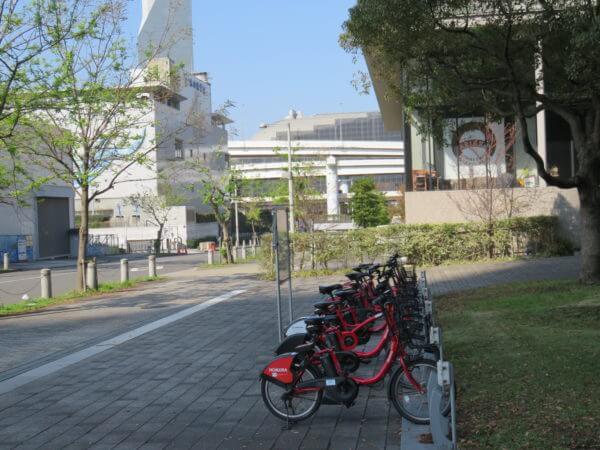 東京都水の科学館 自転車シェアリング