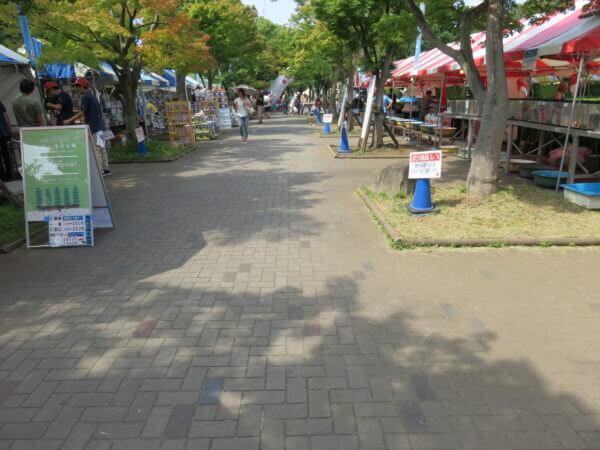 金魚まつり(行船公園)