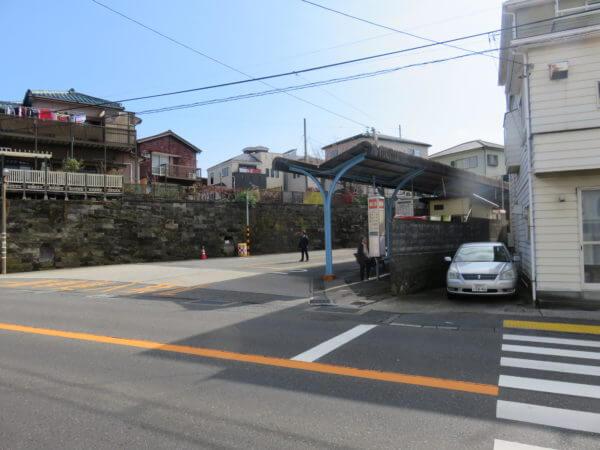 三崎東岡バス停