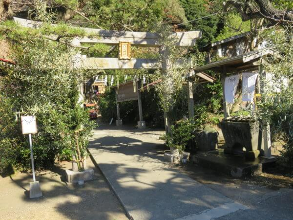 三浦七福神巡り 白髭神社(長安寿老人)