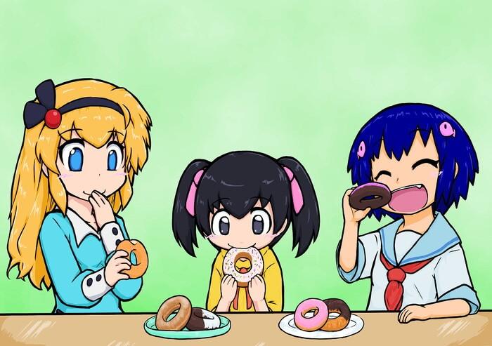 気持ちのこもった美味しいドーナツ