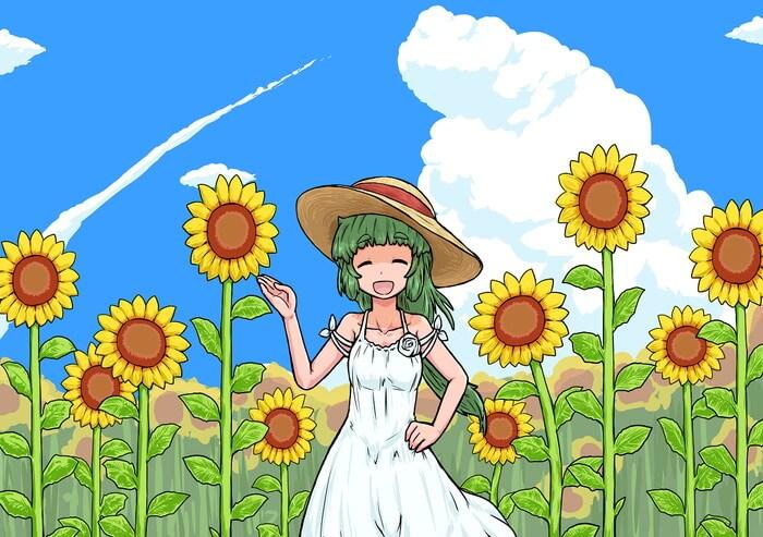 ひまわり畑で夏を楽しもう!