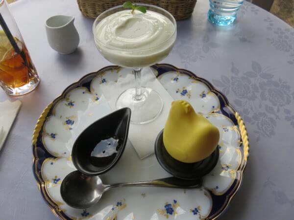 観音崎自然博物館レストラン マテリア 名物生プリン