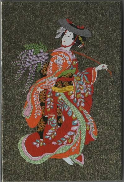 歌舞伎座 藤娘